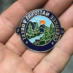 Cherokee National Forest walking Hiking Medallion NEW staff