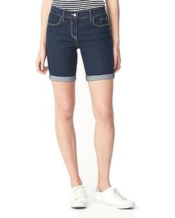 Clearance Sale Old Navy Slim Denim Bermudas for Teens and Wo