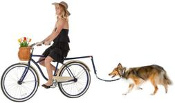 Dog Hands Free Bicycle Exerciser Leash Bike Attachment Ridin