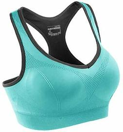 FITTIN Racerback Sports Bras - Padded Seamless High Impact S