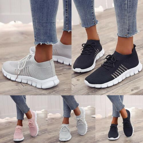 2019 Fashion New Women's Sneakers Sports Breathable Casual R