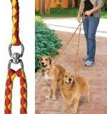 52'' No-Tangle Dual Leash with Swivel, Walks Up At