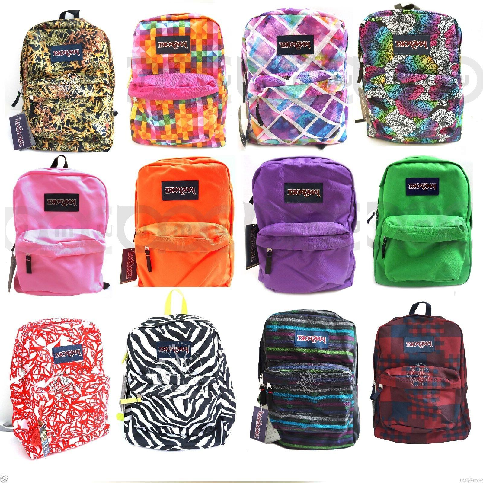 Authentic JanSport Stakes Superbreak Student Backpack