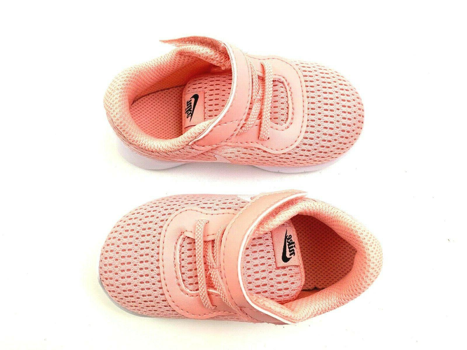 Baby Girl Sneakers Shoes Velcro Sz NEW