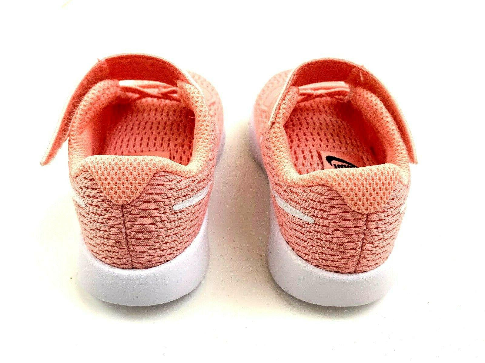 Baby Girl Pink Sneakers Shoes Shoes Velcro Sz 5C NEW