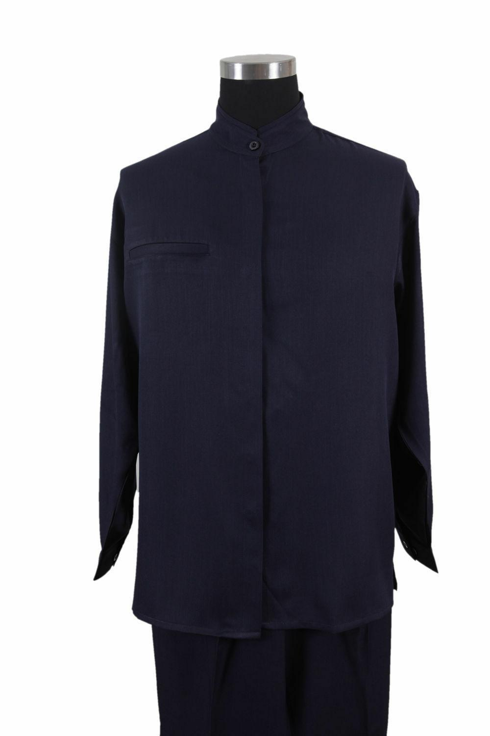 New MEN'S COLLAR LONG SLEEVE TWO SETS CASUAL SUITS M2826