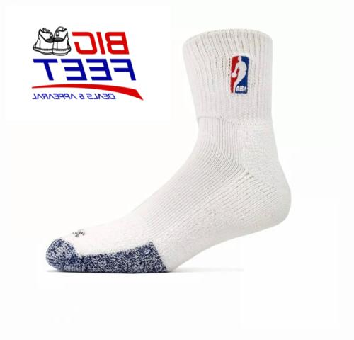 New NBA Elite Cushioned Men's Socks Size