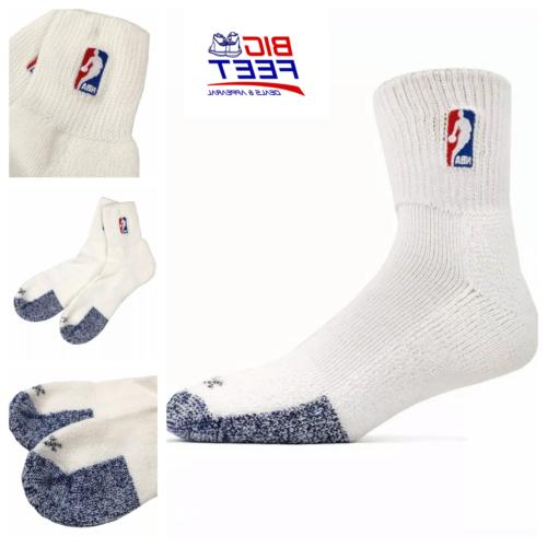 new nba logoman white elite cushioned quarter