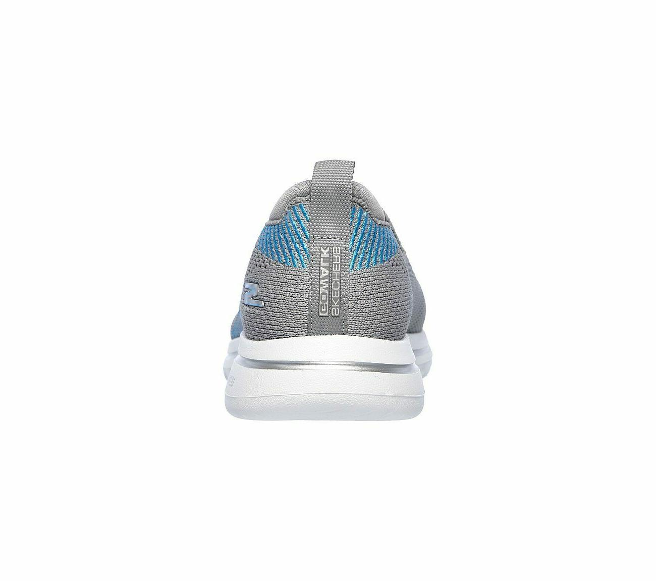 Skechers Shoes Gray Go Casual Slip On Comfort Sporty 15900