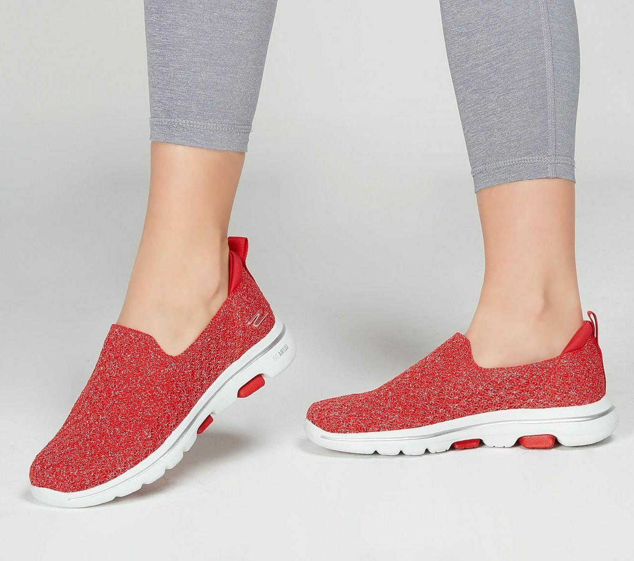 shoes red go walk 5 women casual