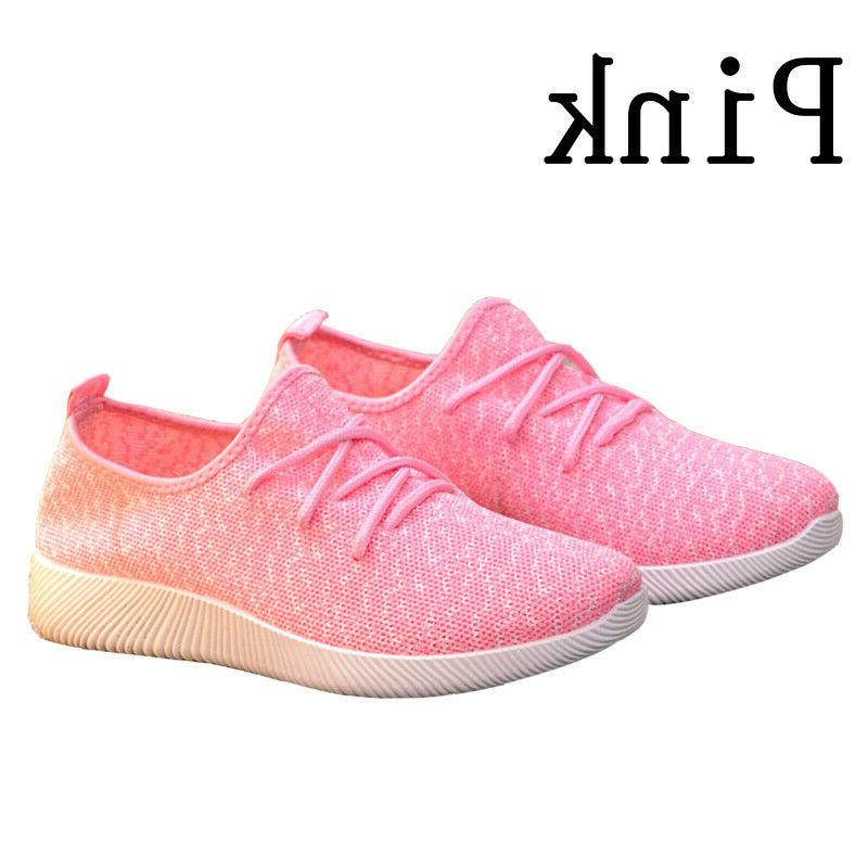 Walking Athletic Shoes Breathable Tennis