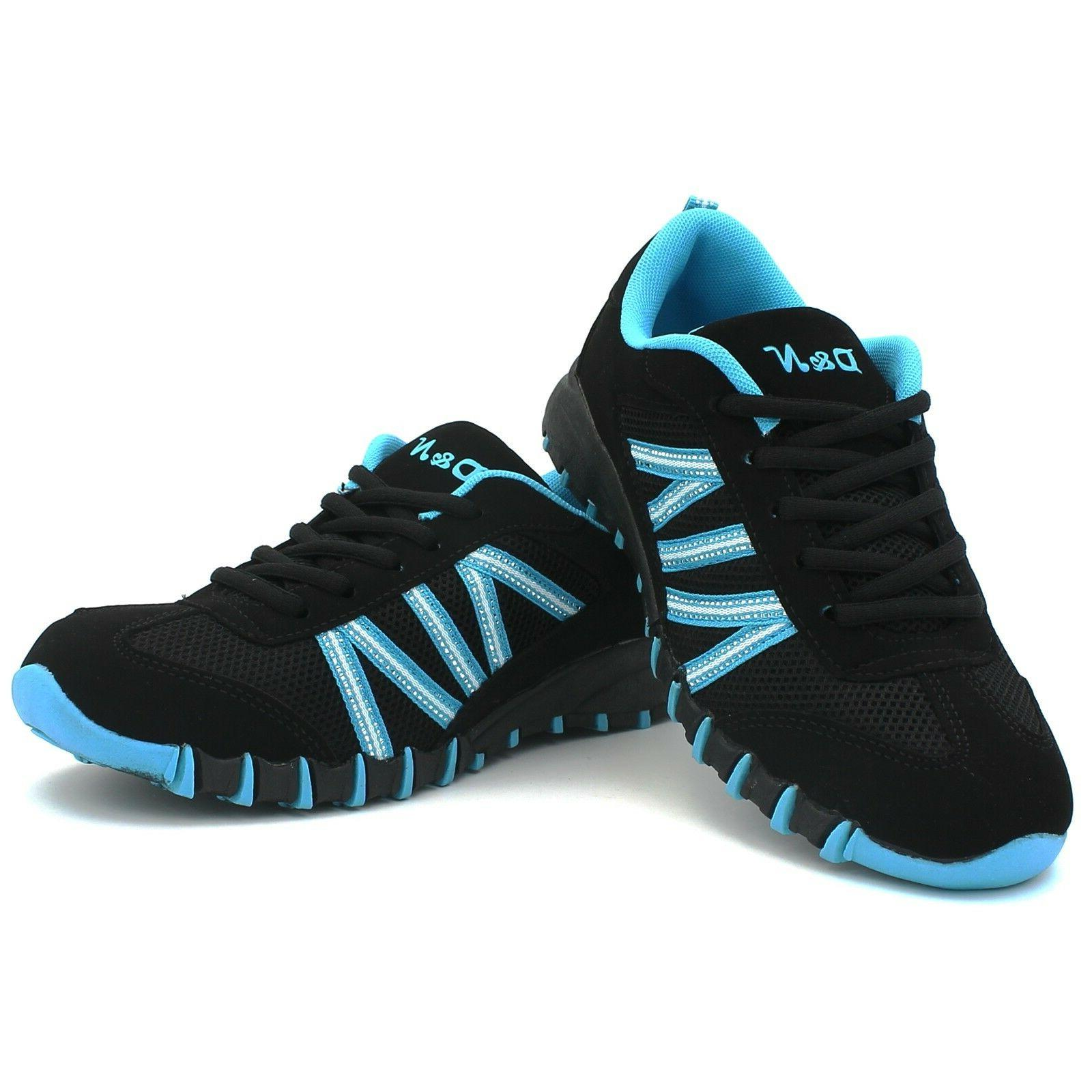 Women's Sneaker Athletic Tennis Shoes Lace-Up Suede