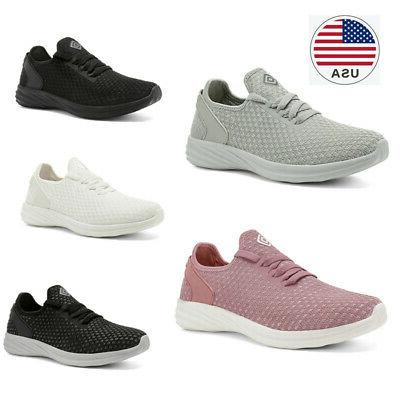 womens athletic sports shoes lightweight walking tennis