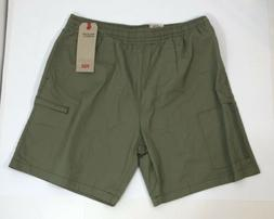 Levi's Men's Walking Shorts - Medium - Green