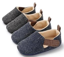 New Arrived Baby Boy Crib Shoes Toddler Pre Walking Trainers