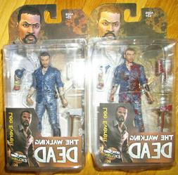 NYCC 2015 WALKING DEAD LEE EVERETT FIGURE GAME EXCLUSIVES BL