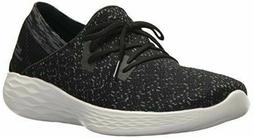 Skechers Performance You Black/White Women's Walking Shoes S