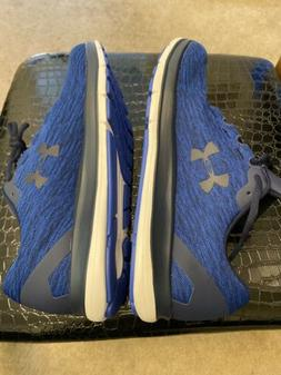 Under Armour Remix Men's Blue Athletic Running Shoes Size