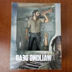 "The Walking Dead TV Series 6 Rick Grimes 10"" Deluxe Action F"