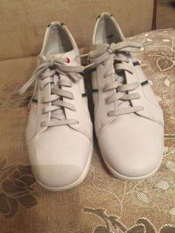 Rockport Walking White Leather Sneakers Shoes by Adidas New