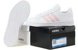 Adidas Women Grand-Court Training Shoes White Run Sneakers C