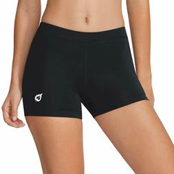 BALEAF Women's 3 Inches Active Fitness Compression Volleybal