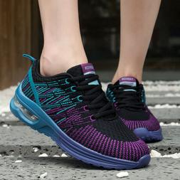 Women's  Running Shoes Tennis Lightweight Breathable Gym Ath