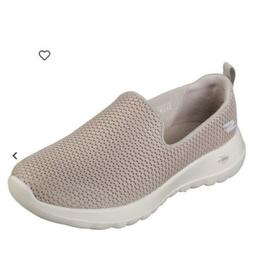 womens go walk taupe walking shoes size