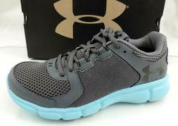 Women's Under Armour Thrill 2 Running Shoes Sneakers Grey Bl