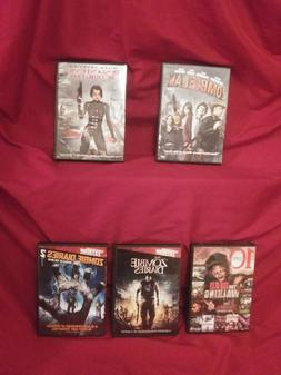 zombie dvd lot Zombieland, The Dead Walking-, and more!